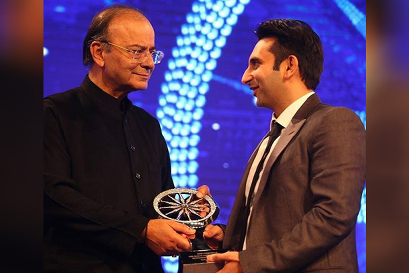 Adar Poonawalla Received CNBC Asia's Award for Corporate Social Responsibility